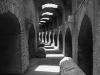 In den Kellergängen des flavischen Amphitheaters von Pozzuoli, Kampanien, Italien