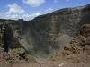 Blick in den Krater des Vesuv, Neapel, Kampanien, Italien