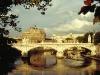Engelsburg am Tiber in Rom, Italien