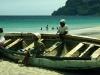 Frauen am Strand von San Pedro, San Vicente, Kapverdische Inseln