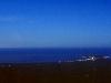 Vollmond über der Kaikoura Peninsula, Ostküste Südinsel, Neuseeland