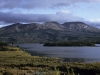 Lake Rotaira und das Tongariro Massiv von Norden, Nordinsel Neuseeland