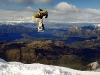 Snowborder-Träume am Treble Cone, Lake Wanaka, Alpen der Südinsel, Neuseeland