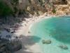 Blick auf die Bucht Cala Biriola an der Ostküste von Sardinien, Italien