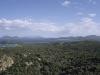 Blick über die Costa Smeralda bei Cala di Volpe, Sardinien, Italien
