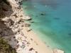 Blick über die Cala Goloritzé auf die Bucht von Orosei, Sardinien, Italien
