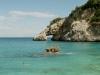Felstor Arco di Goloritzé im Golf von Orosei, Sardinien, Italien