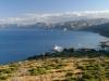 Cala Gonone an der Ostküste von Sardinien, Italien