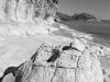 Felsen an der Cala Luna  im Golf von Orosei, Sardinien, Italien