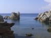 Bizarre Felsformationen am Capo Testa, Sardinien, Italien