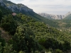 Cantoniera Bidicolai vor der Schlucht Su Goroppu im Supramonte-Gebirge, Sardinien, Italien