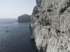 Steilküste an der Grotta d Nettuno, Gallura, Sardinien, Italien