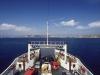 Überfahrt mit der Autofähre von Palau nach La Maddalena, Sardinien, Italien