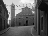 Kirche von Luogosanto, Gallura, Sardinien, Italien