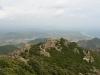 Blick vom Monte Ferru (875 m) auf die Ogliastra und den Planargie-Strand bei Barisardo, Sardinien, Italien