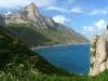 Am Punta Perda Longa an der Felsküste von Ostsardinien