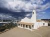 Die Kirche Stella Maris in Porto Cervo, Sardinien, Italien