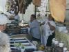 Auf dem Markt von Santa Teresa im Norden von Sardinien, Italien