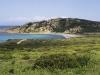 Die Spaggia Montirusso in der nördlichen Gallura, Sardinien, Italien