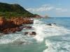 Felsklippen am Strand von Su Sirbone in der Ogliastra an der Ostküste von Sardinen