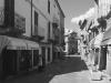 Strasse im Tempo Pausania, Gallura, Sardinien, Italien