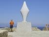 Blick auf Korsika von Santa Teresa im Norden von Sardinien