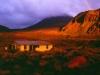 Die Mangatepopo-Hut im Abendlicht, Tongariro Nationalpark, Nordinsel Neuseeland