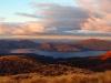 Sonnenuntergang an der Ketetahi Hut, Tongariro Nationalpark, Nordinsel Neuseeland