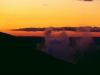 Ketetahi Springs im Abendlicht, Tongariro Nationalpark, Neuseeland