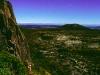 Klettern am Pukikaikiore im Mangatepopo-Tal, Tongariro Nationalpark, Neuseeland