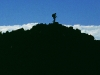 Bergsteiger auf dem Gipfel des Ngauruhoe, Tongariro Nationalpark, Nordinsel Neuseeland