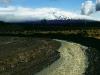 Tangiwai,Ort des grossen Eisenbahnnglücks von 1954, Tongariro Nationalpark, Nordinsel Neuseeland