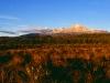 Morgenpanorama von der Waihohonu-Hütte, Tongariro Nationalpark, Nordinsel Neuseeland