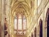 Im Langschiff des Veitsdom auf der Prager Burg, Prag, Tschechien