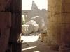 Im Ramesseum Tempel, Theben West, Ägypten