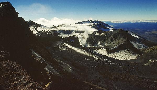 Mt. Ruapehu Krater, Tongariro Nationalpark Neuseeland