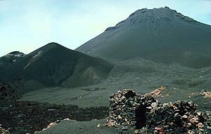 Calder des Vulkans auf Fogo, Kapverden