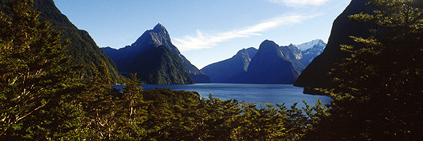 Milford Sound, Fjordland Neuseeland