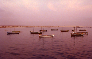 Sonnenuntergang auf Boavista