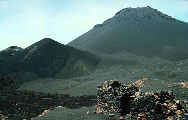 In der Caldera am Pico de Fogo, Kapverden