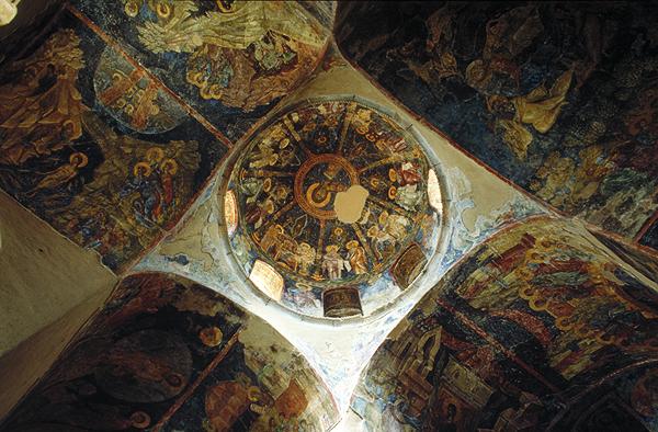 Fresken in Mistra, Peloponnes