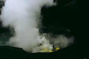 Krater des Ruapehu, Tongariro Nationalpark, Nordinsel Neuseeland