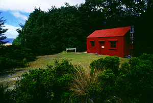 Old Waihohonu Hut, Tongariro Nationalpark, Nordinsel Neuseeland