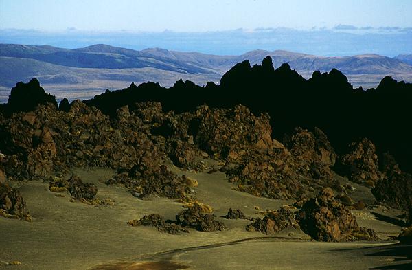 Im Oturere Tal, Tongariro Nationalpark, Nordinsel Neuseeland