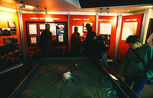 Visitor Center in Whakapapa, Tongariro Nationalpark, Nordinsel Neuseeland