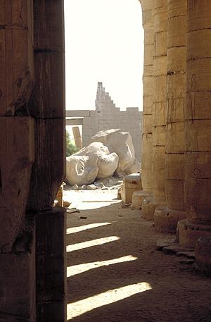 Ramesseum, Ramses Tempel, Theben West, Niltal, Ägypten