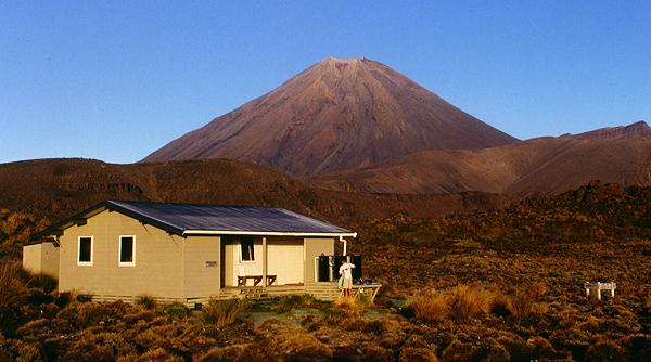 Oturere Hut, Tongariro Nationalpark, Neuseeland
