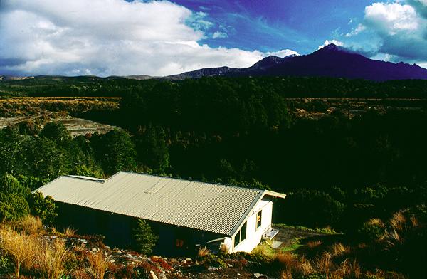 Waihohonu-Hut, Tongariro Nationalpark, Nordinsel Neuseeland