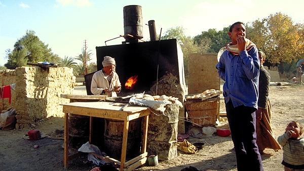 Der Bäcker der Oase Farafra, Ägypten