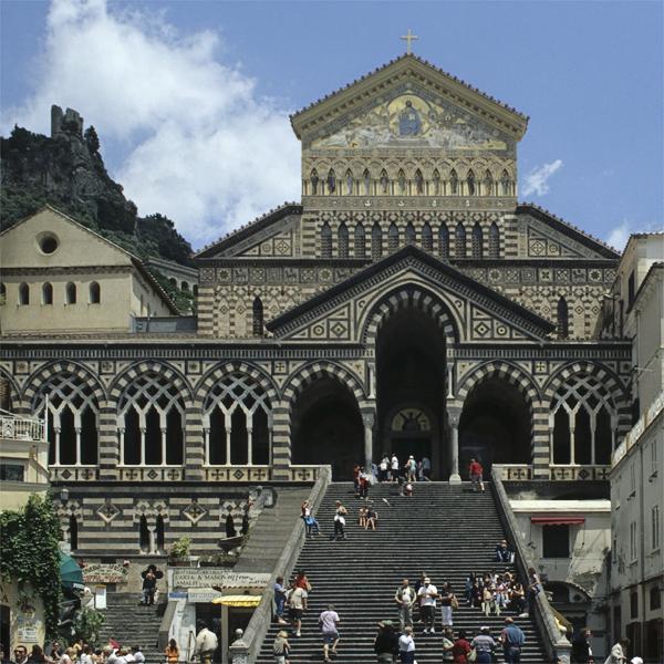 Duomo Sant' Andrea, Amalfi, Kampanien, Italien